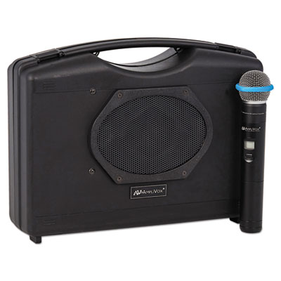 AmpliVox SW223A Bluetooth Audio Portable Buddy with Wireless Handheld Mic
