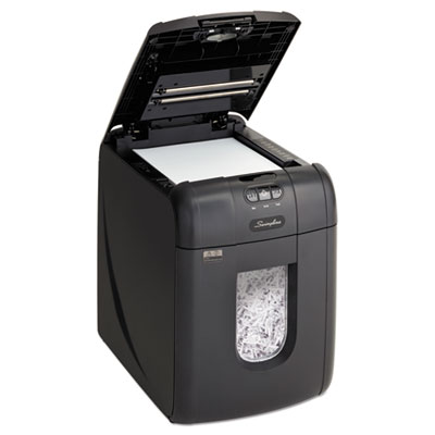 Swingline 1757571 Stack-and-Shred 130X Auto Feed Super Cross-Cut Shredder