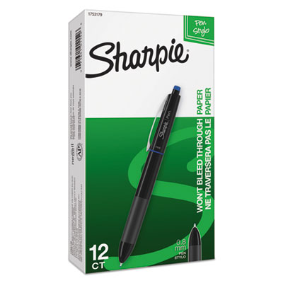 Sharpie 1753179 Retractable Ink Pen