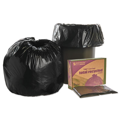 AbilityOne 3862290 SKILCRAFT Recycled Content Trash Can Liners
