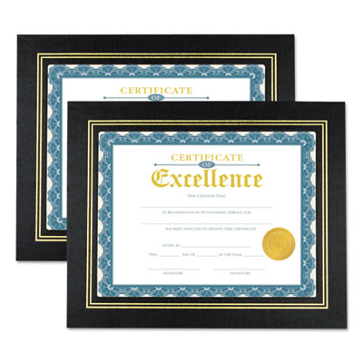 Universal 76838 Leatherette Document Frame