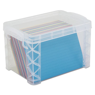 Advantus 40305 Super Stacker Card File Box
