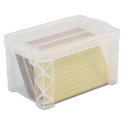 Advantus 40307 Super Stacker Card File Box