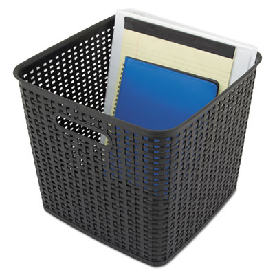 Advantus 40376 Extra Large Weave Bin