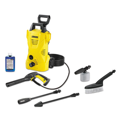 Karcher 1,600 PSI 1.25 GPM Compact Electric Pressure Washer with Car Care Kit
