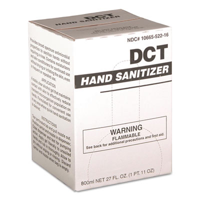 DCT 00010 Hand Sanitizer