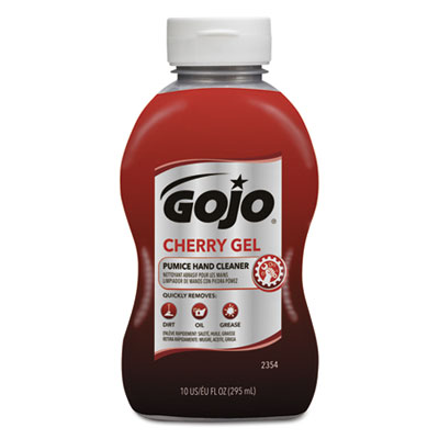 GOJO 235408 Cherry Gel Pumice Hand Cleaner
