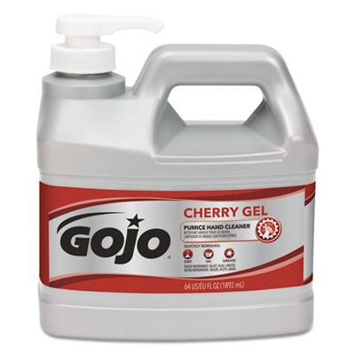 GOJO 235604CT Cherry Gel Pumice Hand Cleaner