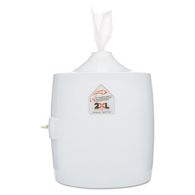 2XL L82 Contemporary Wall Mount Wipe Dispenser