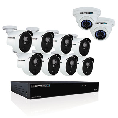 Night Owl CLHDA3016102 16 Channel Extreme HD Video Security System