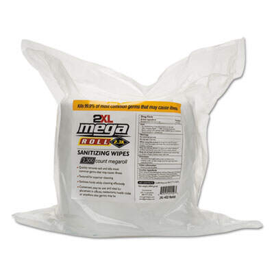 2XL 422 Mega Roll Sanitizing Wipes Refill