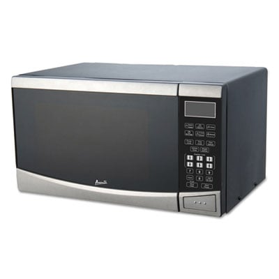 Avanti MT09V3S 0.9 Cubic Foot Capacity Stainless Steel Microwave Oven