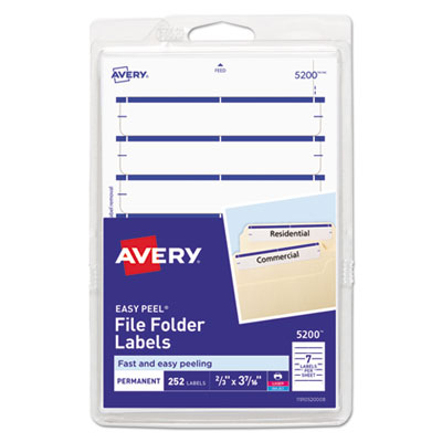 Avery 05200 Labels