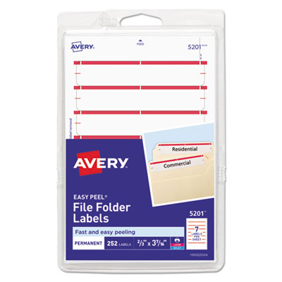 Avery 05201 Labels