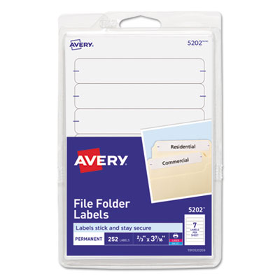 Avery 05202 Labels