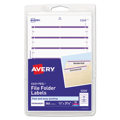 Avery 05204 Labels