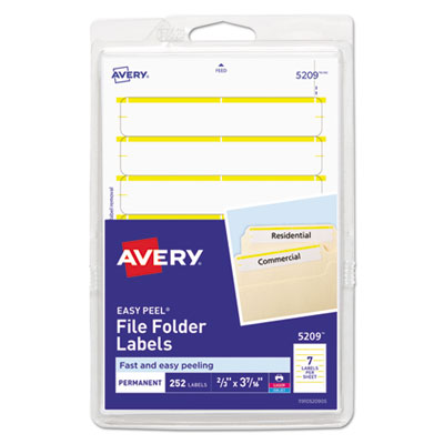 Avery 05209 Labels