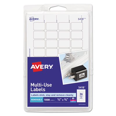 Avery 05418 Labels