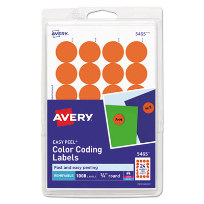 Avery 05465 Labels