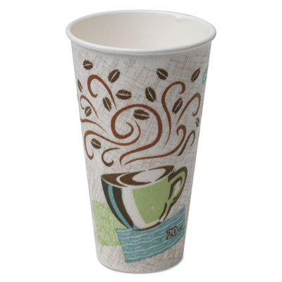 Dixie 5320CD PerfecTouch Paper Hot Cups