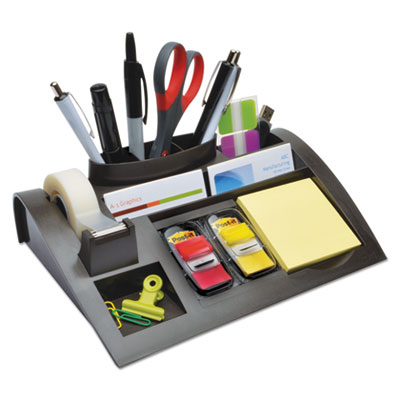 3M C50 Post-it Weighted Base Desktop Organizer