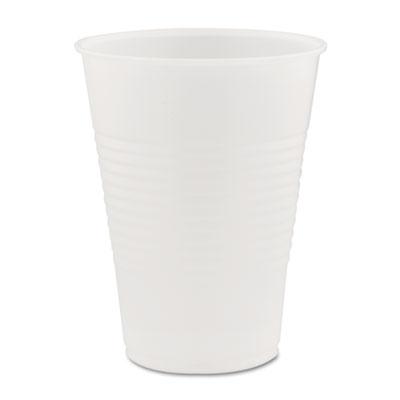 16oz 500//Carton Y16PFTPKCT SOLO CUPS Galaxy Translucent Cups