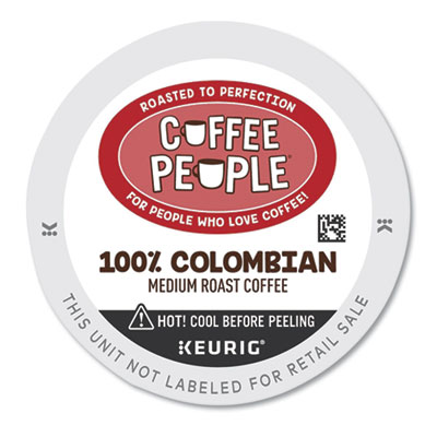 Coffee People 7586 100% Colombian K-Cup