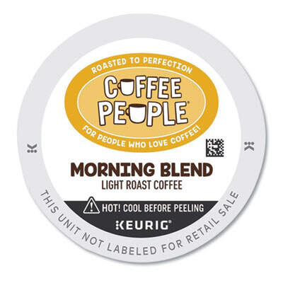 Coffee People 7605 Morning Blend K-Cup