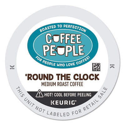 Coffee People 7607 Round the Clock Blend K-Cup