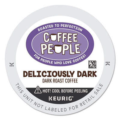 Coffee People 7608 Deliciously Dark K-Cup