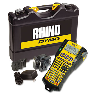 DYMO 1756589 Rhino 5200 Industrial Label Maker Kit
