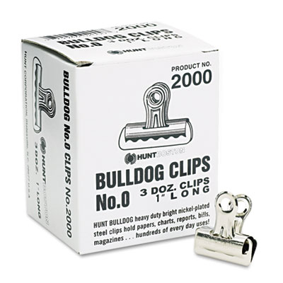 Elmers Products 2000 X-ACTO Bulldog Clips