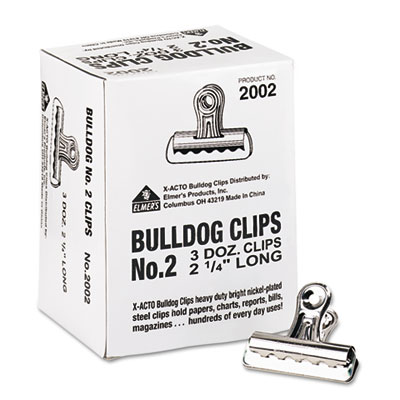 Elmers Products 2002 X-ACTO Bulldog Clips