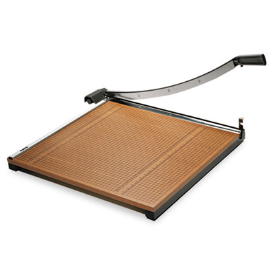Elmers Products 26624 X-ACTO Square Commercial Grade Wood Base Guillotine Trimmer