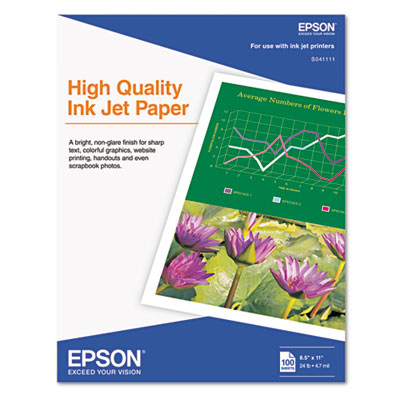 Epson S041111 High Quality Inkjet Paper