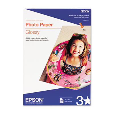 Epson S041143 Glossy Photo Paper