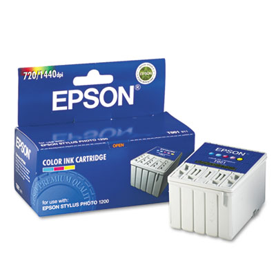 Epson T001011 Tri-Color Ink Cartridge