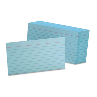 Oxford 7321BLU Index Cards