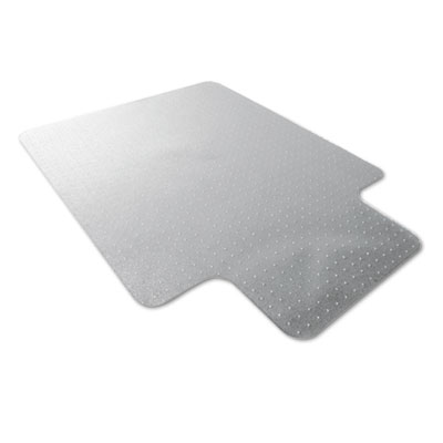 floortex 118923lr cleartex ultimat polycarbonate chair mat for low