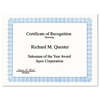 Geographics 20008 Archival Quality Parchment Certificates