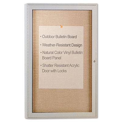 Ghent PA13624VX181 Enclosed Outdoor Bulletin Board