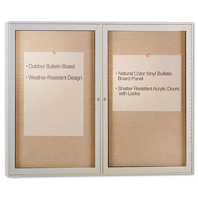 Ghent PA23648VX181 Enclosed Outdoor Bulletin Board