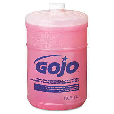 GOJO 1845 Thick Pink Antimicrobial Lotion Soap