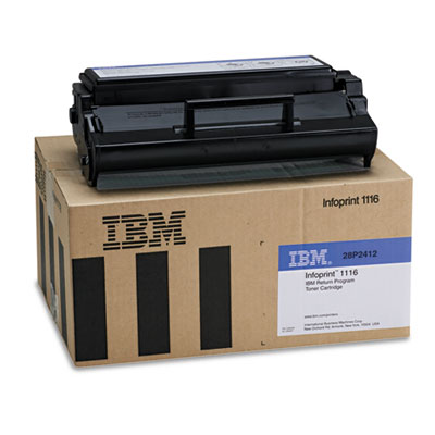 InfoPrint 28P2412 Black Toner Cartridge