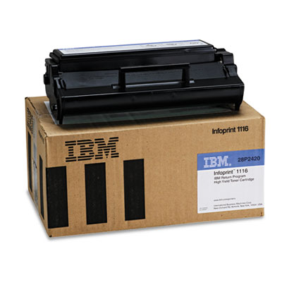 InfoPrint 28P2420 Black Toner Cartridge