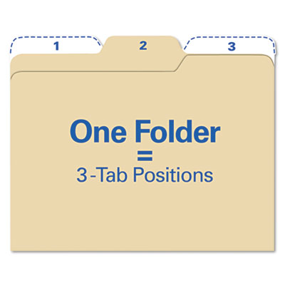Snap-N-Store FT07046 find It All Tab File Folders