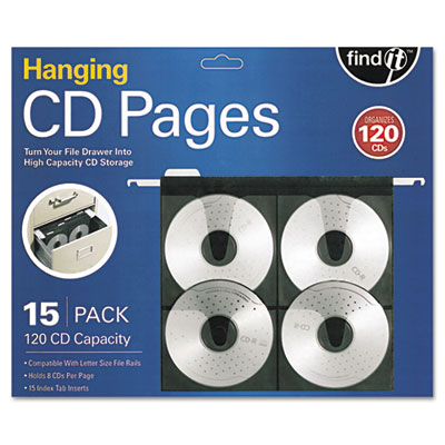 find It FT07069 Hanging CD Pages