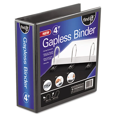 Snap-N-Store FT07074 find It Gapless Loop Ring View Binder