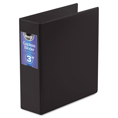 Snap-N-Store FT07093 find It Gapless Loop Ring Binder