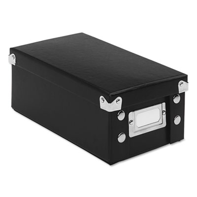 Snap-N-Store SNS01573 Collapsible Index Card File Box